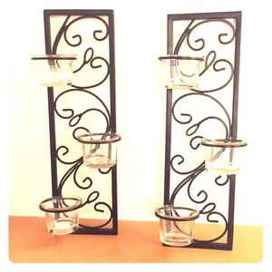 PartyLite Wall Sconces